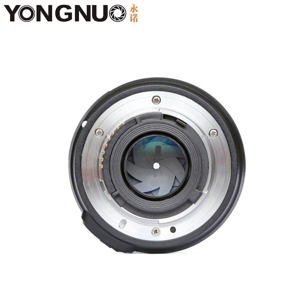 Objectif d'appareil photo YONGNUO YN50mm F1.8 MF YN 50mm f/1.8 AF objectif YN50 mise au point automatique d'ouverture pour NIKON D5300 D5200 D750 D500 appareils photo reflex numériques - 3