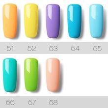 7ML 58 Colors UV Hybrid Gel Polish