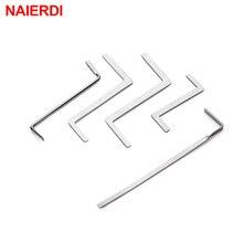 NAIERDI 5 шт. слесарные ручные инструменты, инструменты для удаления сломанного ключа, фиксатор крючков, набор замков