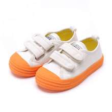 Girls Spring Shoes Baby Sneakers Candy Color Kids Canvas For Boys 2019 Autumn Toddler Sneaker Children