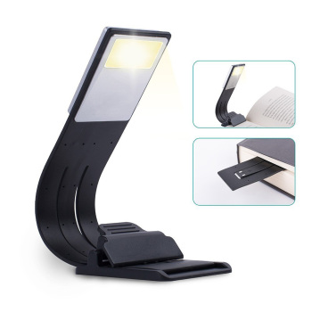 Rechargeable Book Light New Portable LED Book Light Dimmable Fold Bending Night Lamp Detachable