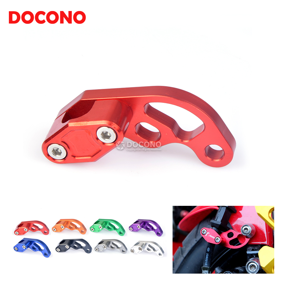 Universal Motorcycle CNC Hose Tube Line Clamps Clip For suzuki dl250 dl650 dl 250 650 gn125 gn250 ktm duke honda cb400 cbr motorcycle front rider seat leather cover for ktm 125 200 390 duke