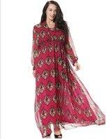 Big summer dress code new D home irregular Sacred Heart Chiffon Italian classical romantic style M 6XL free shipping