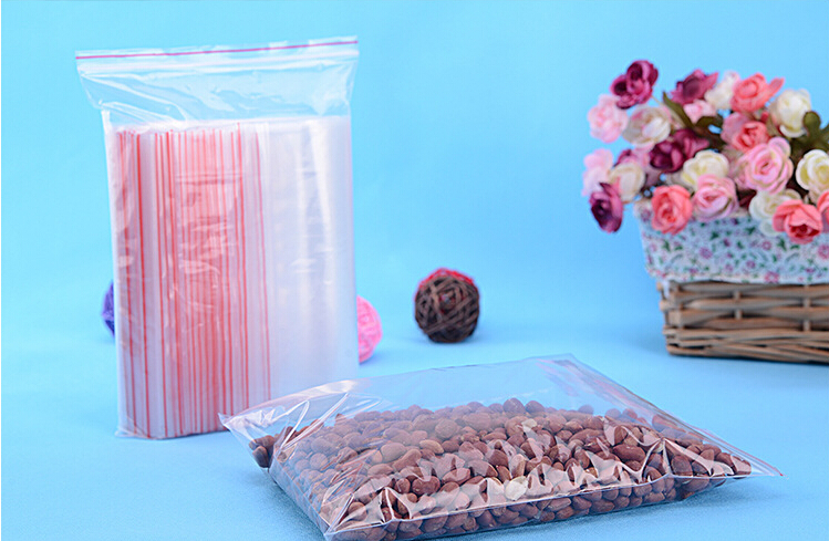 50PCS 15x22cm transparent travel gift packing bag plastic bag for necklace/jewelry/ food small ziplock clear self seal bags pe