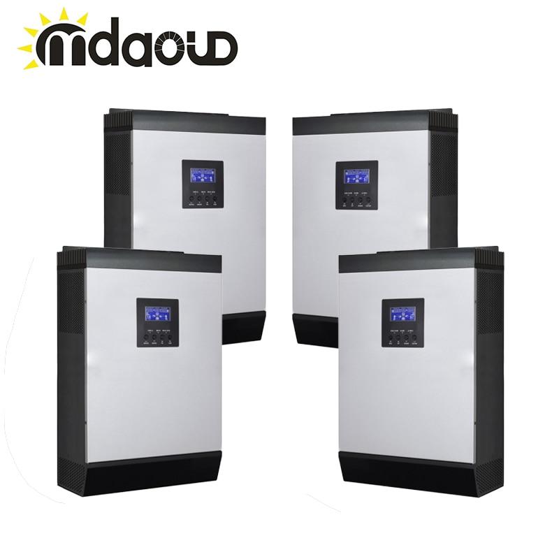 Hybrid off grid solar inverter 20kva 16000 w DC 48 v ZU AC 220 v/230 v reine sinus welle/mppt