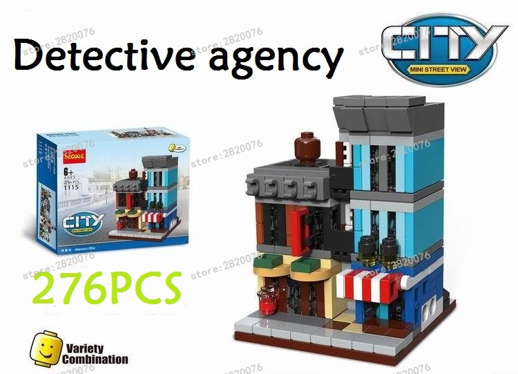 6 In 1 Model Bangunan Kit Kompatibel Dengan Lego City Mini Pencipta