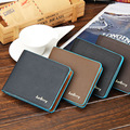 Genuine Leather Men Wallet Luxury Famous Brand Coins Pocket Purse First Layer Cowhide Male Money Clip