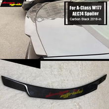 Fits For MercedesMB W177 Rear Spoiler lid wing Carbon fiber A class A180 A200 A250 A260 Trunk C74 style 2018+