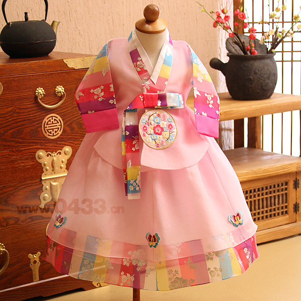 Новинка 2019 года; детское платье для девочек в Корейском стиле; платье ханбок для дня рождения; костюм для игр в национальном стиле; Gfit US Dae Jang
