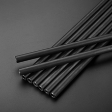 24mm O/D Round Seamless Steel Pipe Hollow Tube  Piepe for Home DIYprint black