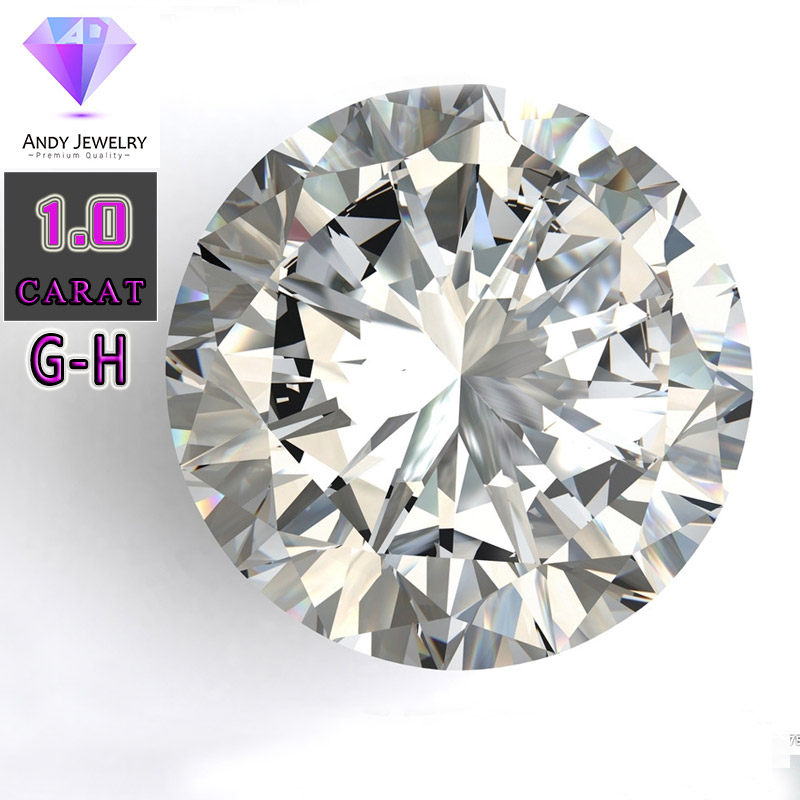 GH color 6 5mm Heart and Arrows Cut White Moissanite Stone Laboratory Moissanite Diamond 1 carat