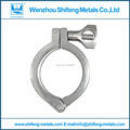 Brand New High Quality Sanitary Tri Clamp Clover 304 Stainless Steel for 89MM OD Ferrule Flange