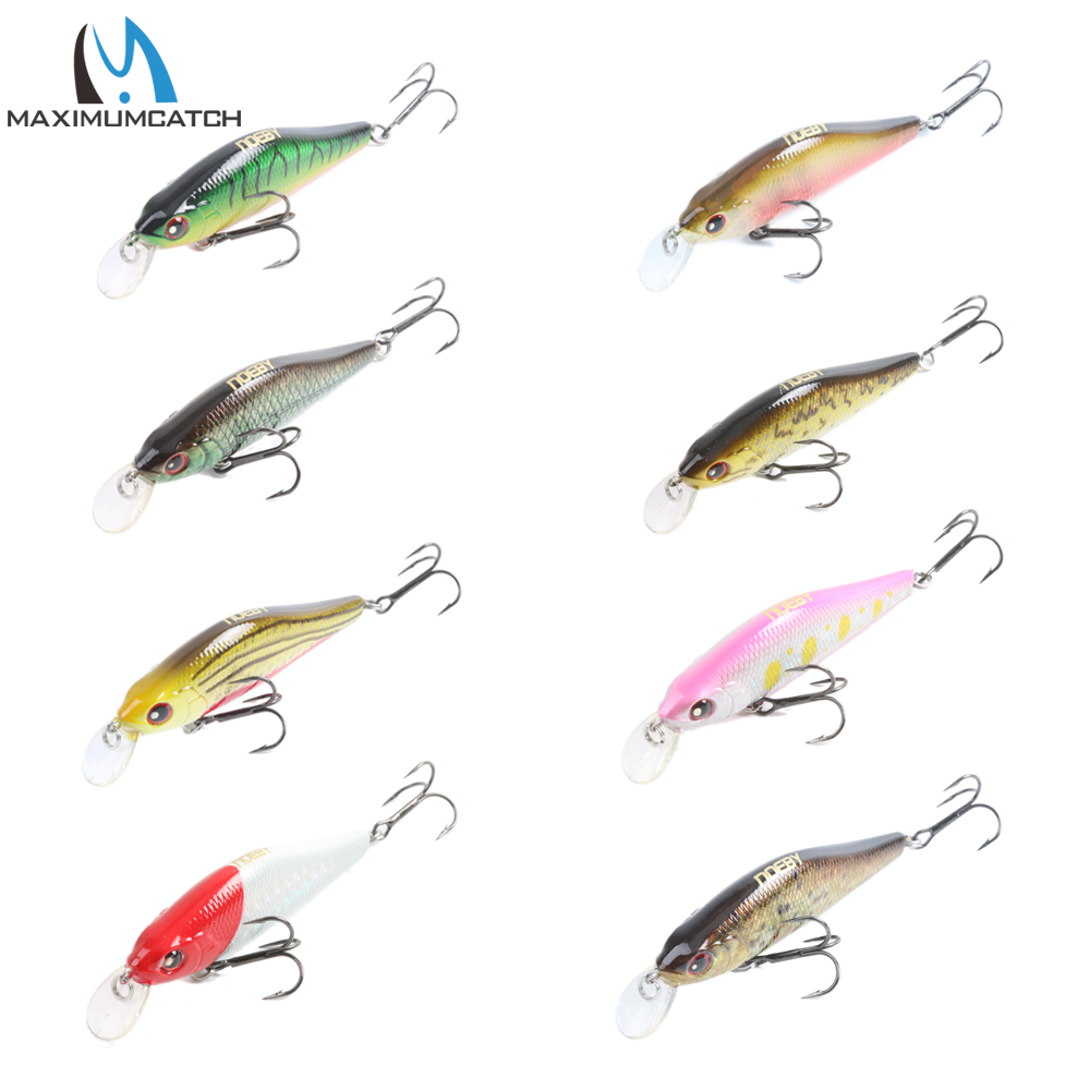 Nobey 1 Pcs Crank Bait Fishing Lures With VMC Hooks Minnow Bass Fishing Lures Artificial Bait hengjia 30pcs fishing lures crankbait bass minnow hooks crank bait poper hard plastic wobler lures fishing lure set 1 5g 8 5g