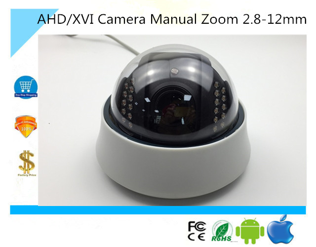 bilder für Luckertech AHD/XVI Kamera Manueller Zoom 2,8-12mm 4X720 P 1080N NightVision IRC Infrarot CCTV sicherheits Survillance