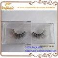 Free Shipping 100%  natural Lifelike handmade false eyelash 3D strip mink lashes thick fake faux eyelashes Makeup beauty DL-18