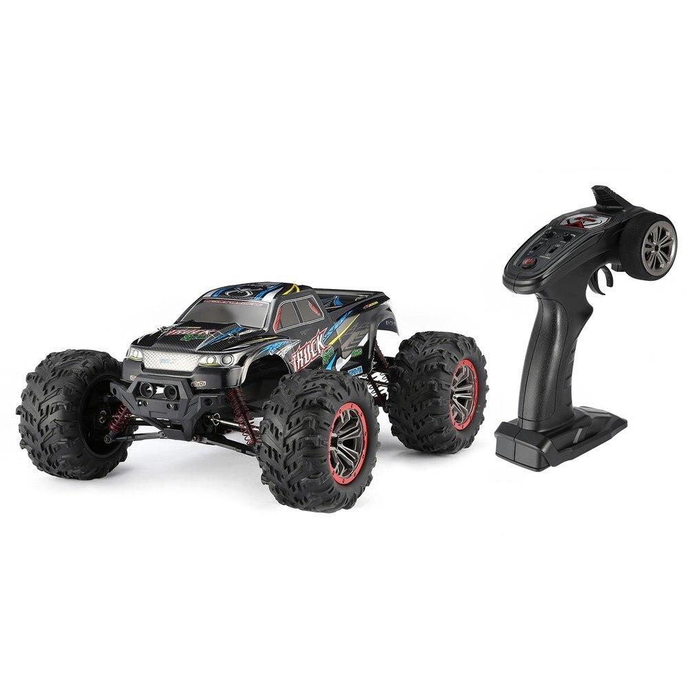Высокое качество 9125 4WD 1/10 высокая скорость 46 км/ч Электрический сверхзвуковой грузовик Внедорожник Багги RC гоночный автомобиль электронные игрушки РТР - 6