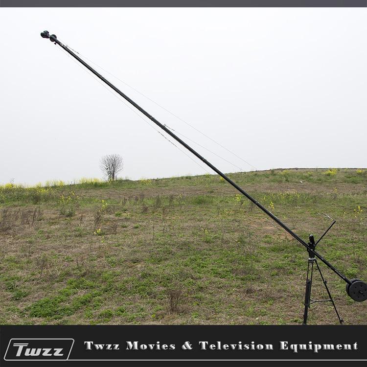 Twzz 600 cm Camre grue potence levage culbuteur vidéo grue pour Film DSLR long métrage vidéo amovible
