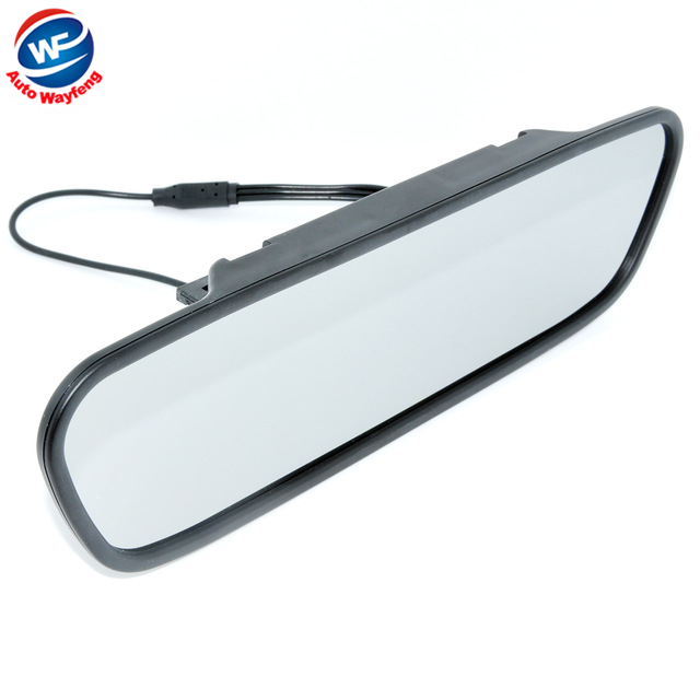 High resolution 4 3 Color TFT LCD Car Rearview Mirror Monitor 4 3 inch 16 9