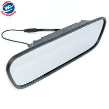 """Высокое разрешение 4.3 """"цветной TFT LCD Автомобильное Зеркало Заднего Вида Монитор 4.3 дюймов 16:9 экран DC 12 В Монитора автомобиля для DVD Камеры DVR"""