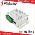 Free Shipping CCTV  4Channel Passive Video Balun Transmitter 4CH UTP Video Balun BNC to UTP RJ45 Camera DVR