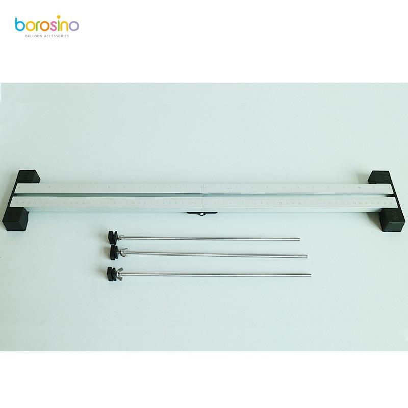 Image 2 - B702 free shipping free foldable balloon measuring sizer for wedding decorationmeasure