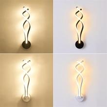 купить Modern LED Wall Lights Iron Bedside Wall Lamp Bedroom Living Room Corridor Lighting Decoration Wall Lamps Kitchen Fixtures Avize по цене 5141.46 рублей