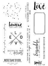 Franse Transparant Clear Stempel voor DIY scrapbooking/Card Making C604