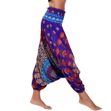 Colorful Printed Dance Yoga TaiChi Full Length Pants