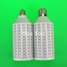 5pcs/lot Lampada 55W 176 Chip Led lamp E27 E40 B22 AC 110v/220V Epistar smd 5730 Corn Light Bulb Warm/Cold White free shipping