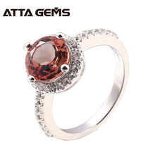Zultanite Silver Ring Women Fashion Silver Jewelry 2.3 Carats Created Diaspore Sterling Silver Wedding Band Color Change Stone