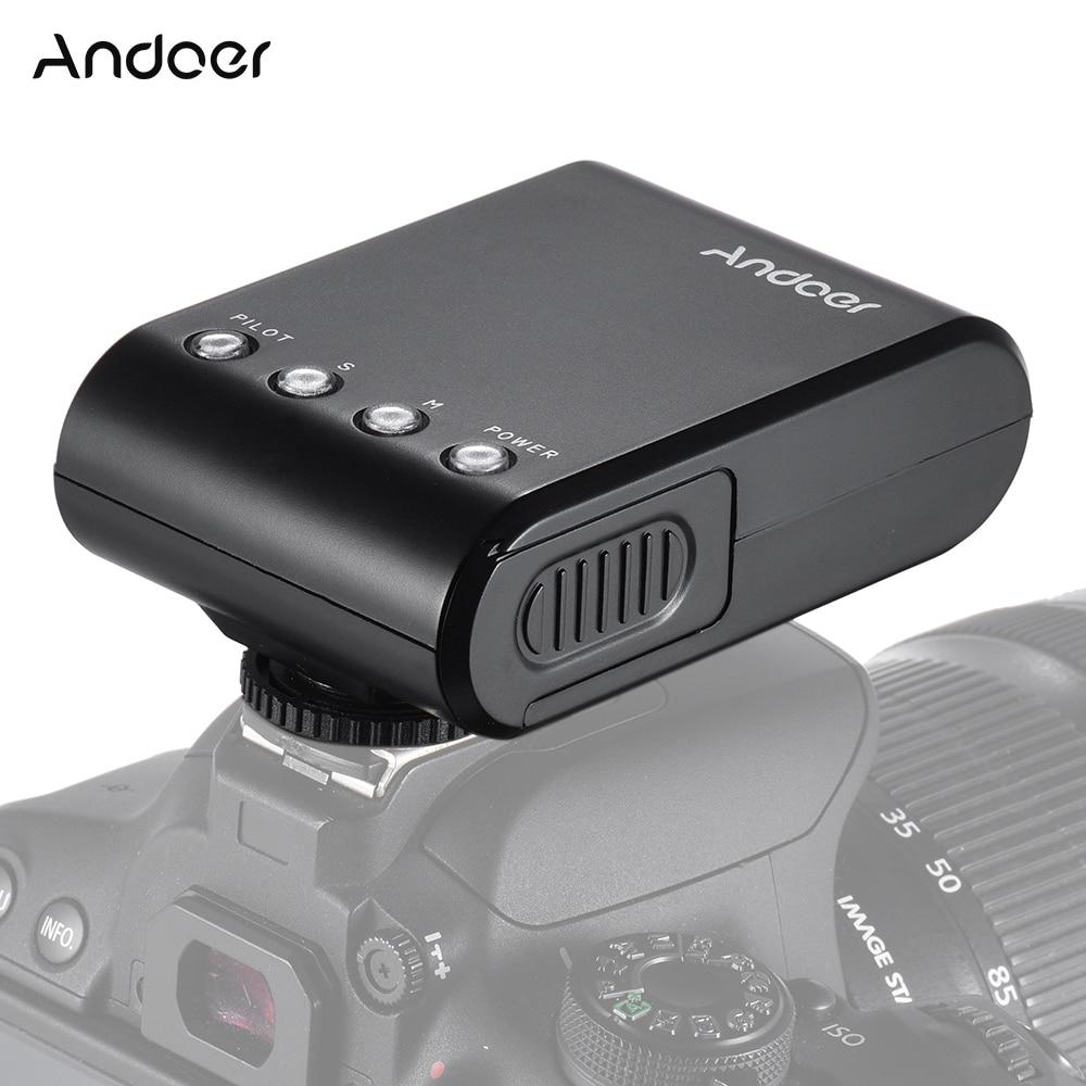Мини-вспышка Andoer для фотоаппарата Универсальная Внешняя вспышка GN18 для Canon Nikon Pentax Sony