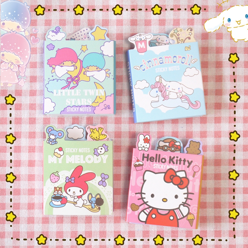 Cute Kawaii Cartoon Animal Finger Unicorn Memo Pad N Times Sticky Note Paper Korean Stationery Cat Planner Sticker School Office To Enjoy High Reputation In The International Market Notebooks & Writing Pads