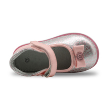 Toddler Girls Genuine Leather Lining Shoes With Arch Support