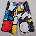 New arrive Mens Shorts Surf Board Shorts Summer Sport Beach Homme Bermuda Short Pants Quick Dry Silver Boardshorts 2017 New