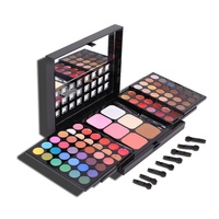 78 Color Eyeshadow Palette Set 48 Eyeshadow 24 Lip Gloss 6 Foundation Face Powder Blush Makeup