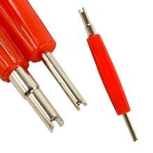 Шин клапан ядро Remover удаление инструмент ключ для автомобиль велосипед мотоцикл шин стержня часть