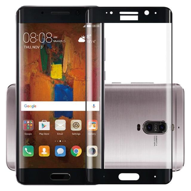 3D Cong Tempered Glass Cho Huawei Mate 9 Pro Đầy Đủ Bìa 9 H Bảo Vệ phim Bảo Vệ Màn Hình Cho Huawei Mate 9