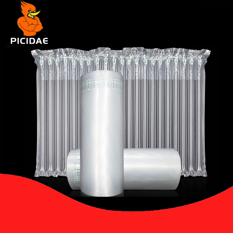Red Wine Bottle Fruit Milk Powder Air Column Buffer Bubble Bag Roll Film Protection Inflatable Packaging Melon Cup Gift Mail