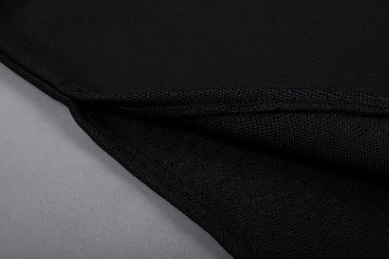 E Manicotto Spalla Bqueen Delle Della Pantaloni Sexy Black Lunghezza Body Fasciatura Palestra Pagliaccetto Regular Tutine Autunno Del Tute Donne Pieno Modo Off Lady Dei Caviglia Da Di xCxpYwEPq