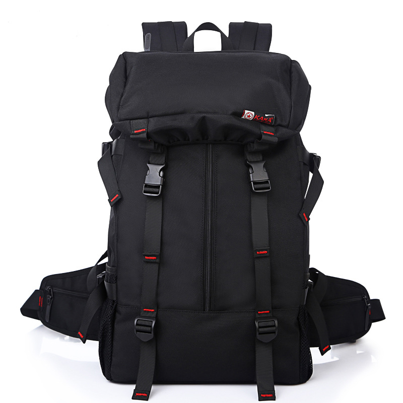 New Brand Waterproof Large Capacity 50L Men Travel Bags Fashion Travel Backpack Multifunction Shoulder Bag Weekend Mochila B61