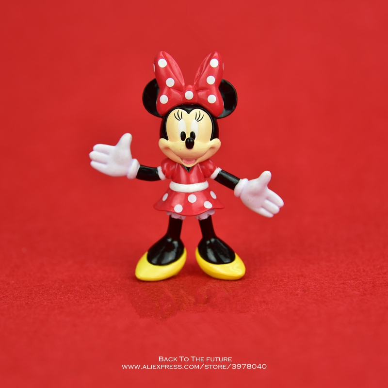 Disney Mickey Mouse Minnie 7.5cm Model Anime Doll PVC Action Figures Accessories Figurines Toys For Kids Gift Children ToyDisney Mickey Mouse Minnie 7.5cm Model Anime Doll PVC Action Figures Accessories Figurines Toys For Kids Gift Children Toy