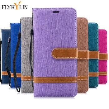 4893aeb55e4 FLYKYLIN para Fundas Nokia 5,1 2018 Funda de cuero funda para Coque Nokia  2,1 3,1 2018 funda Flip Cowboy wallet Stand caja del teléfono Capa