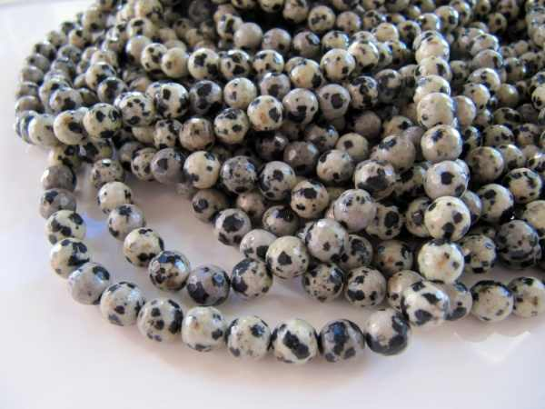 2017 Top Fashion Direct Selling Metal jaspis nice Of Natural 6mm Dalmatian Jaspe r Round Beads 60pcs Loose A Lot