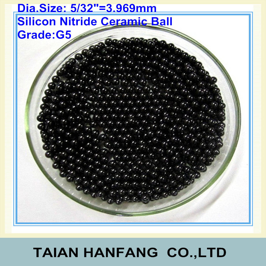 5 32 Quot 3 969mm Silicon Nitride Ceramic Ball Si3n4 G5 Used
