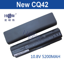 HSW battery for HP PAVILION DM4 DV3 DV5 DV6 DV7 G4 G6 G7 G72 G62 G42 for Compaq Presario CQ32 CQ42 CQ43 CQ56 CQ62 CQ72 MU06(China)