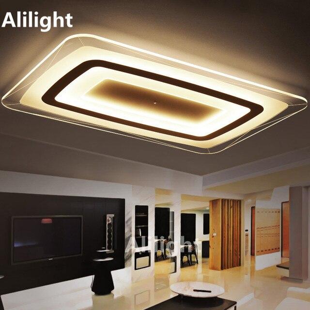 Super Dünne Quadratische Deckenleuchten Innenbeleuchtung Led Moderne  Deckenleuchte Für Wohnzimmer Putz Lampen Decor Leuchte
