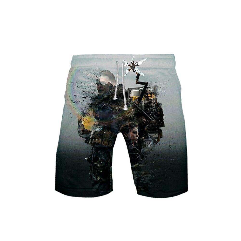 Casual Shorts Death Stranding Hip-Hop Quick-Dry Fashion Summer New Hot 3D Beach-Wear