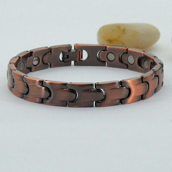 38 Jewelry Brand Vacuum Copper Plating 2017 Italian Charm Man Magnet Bracelet