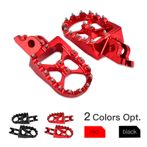 Foot Pegs Pedals Rests Footpegs For Honda CRF250R CRF250X CRF450R CRF450X CR 125R 250R CRF 150R 450RX 250L/M 250 Rally 2002-2019(China)