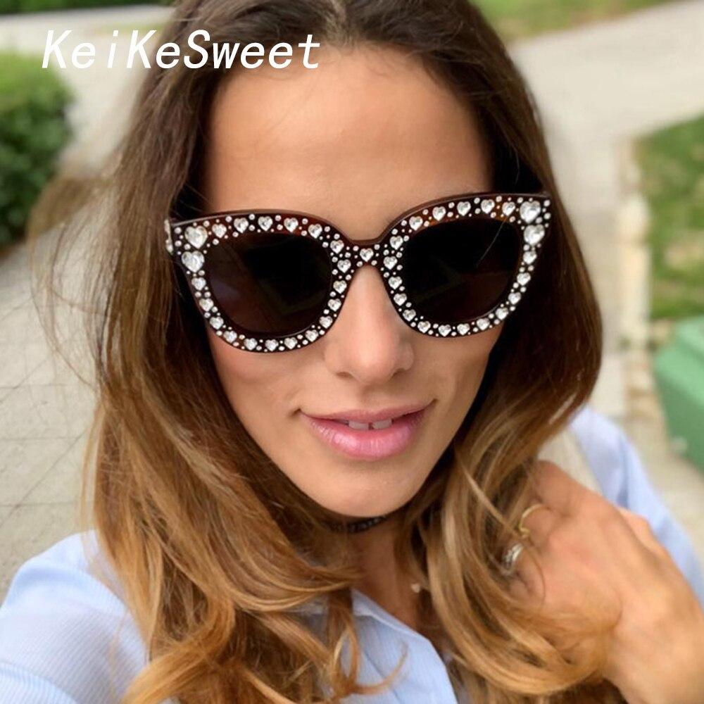Floralby Classic Women Cateye Sunglasses Vacation Beach Eyewear UV Protection